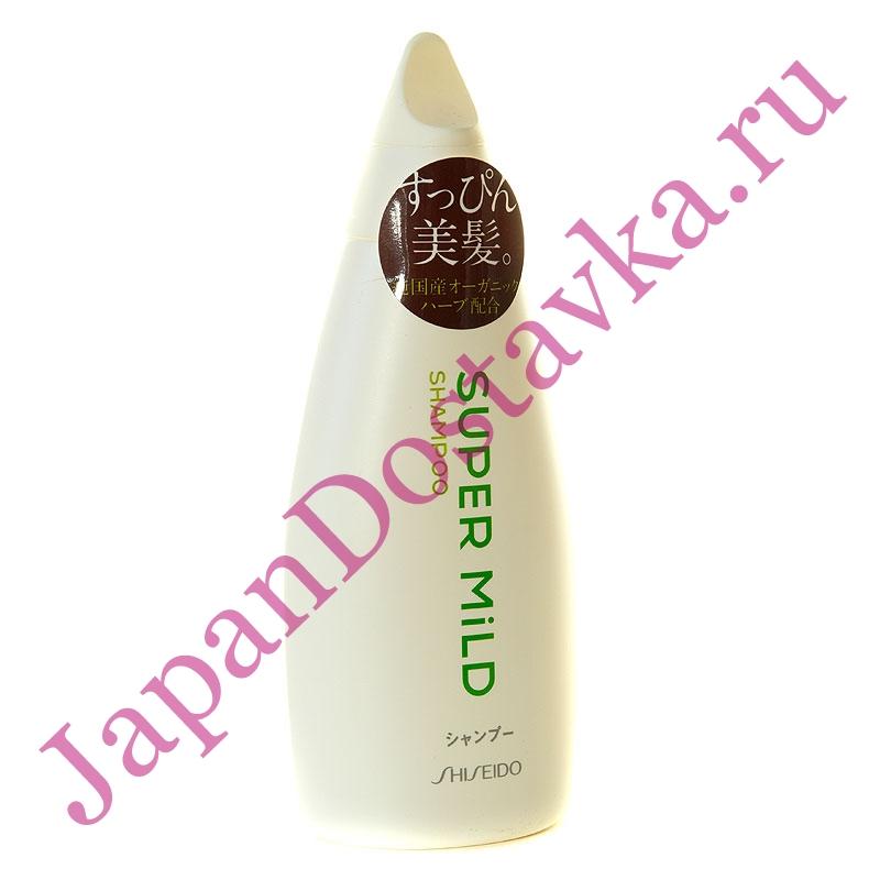 Мягкий шампунь для волос Super MIld, SHISEIDO 220 мл