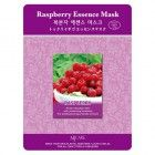 Маска тканевая малина Raspberry Essence Mask, MIJIN