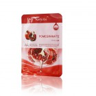 Тканевая маска с натуральным экстрактом граната Visible Difference Pomegranate Mask Pack, FARMSTAY Корея 23 мл