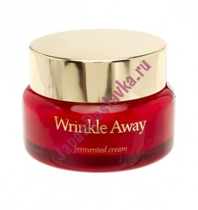 Ферментированный крем Wrinkle Away Fermented Cream, THE SKIN HOUSE Корея 50 мл