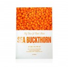 Тканевая маска для лица c экстрактом облепихи My Skin-Fit Sheet Mask Sea Buckthorn, APIEU Корея 25 г