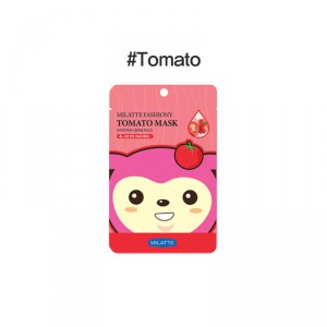 Маска для лица тканевая с экстрактом томата Fashiony Tomato Mask Sheet, MILATTE   21 г