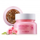 Маска для лица с лепестками роз Natural Daily Original Rose Mask, THE SAEM Корея 100 г