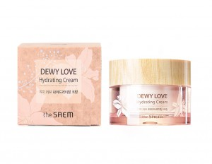 Крем увлажняющий Dewy Love Hydrating Cream, THE SAEM Корея 50 мл