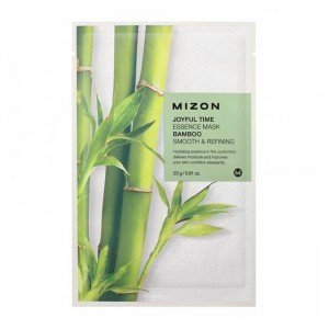 Тканевая маска для лица с экстрактом бамбука Joyful Time Essence Mask Bamboo, MIZON Корея 23 мл