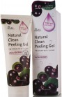 Пилинг-скатка с экстрактом ягод асаи Natural Clean Peeling Gel Acai Berry, EKEL   180 мл