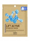 Маска для лица тканевая Лифтинг-эффект Lift Active Essence Mask, MIJIN Корея 25 г