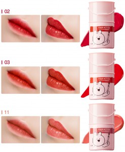 Тинт-помада для губ 11 (Over Action Rabbit)Lip Paint 11 Sugar Coral, SAEM Корея, 5 г