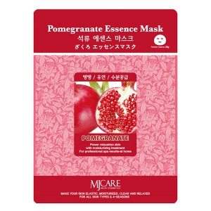 Маска тканевая с экстрактом граната Pomegranate Essence Mask, MIJIN Южная   23 мл